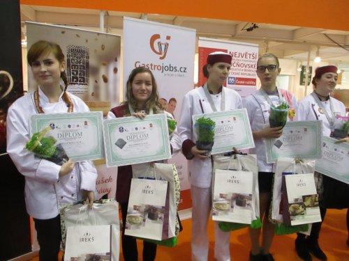Úspěchy žáků na Gastrojunioru v Brně 2018