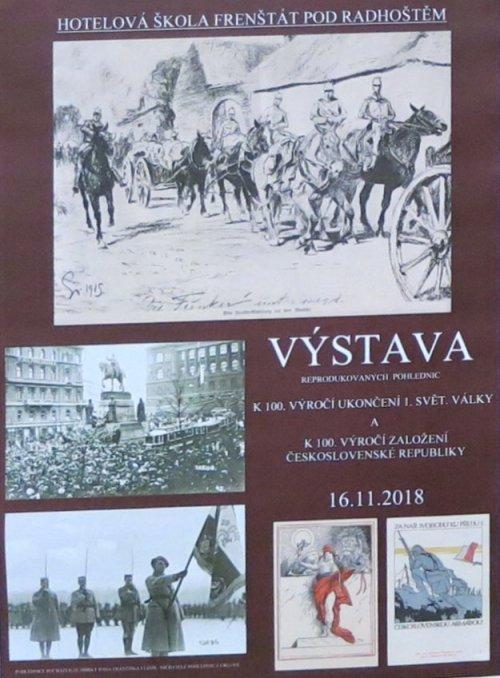 Výstava ke 100. výročí vzniku republiky